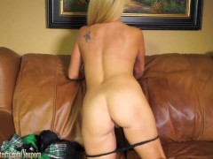 Picture Amateur Mom on casting couch gets dirty
