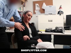 Picture Shoplyfter - Mom and Daughter Caught and Fuc...