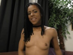 Picture Broke College Student Kira Noir does Handjob