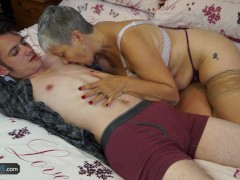 Picture Aged Love Old lady Savana fucked by student...