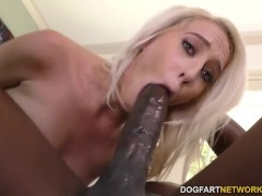 Picture Cadence Lux tries Mandingo s black dick