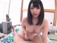 Picture Subtitled POV Japanese Ai Uehara blowjob fol...