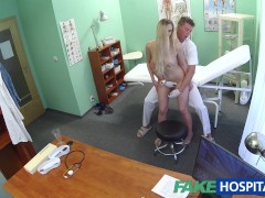 Picture Fake Hospital Doctor finds sexual surprise i...