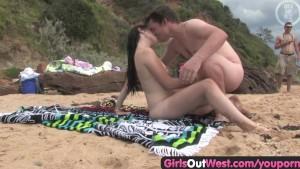 wife fuck stranger beach