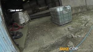 fake cop anal