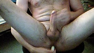 23y boy fucks hims. with a candle