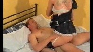 Analisa the maid giving pleasure