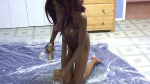 ebony oil up