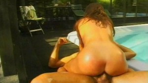 Rocco Poolside Hard Fuck