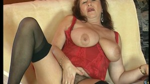 Mature Natural Woman Shows Her