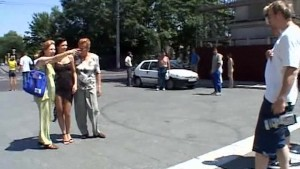 Angelina Crow - Public sex in Budapest