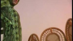 Spandex Zusanna like a green snake