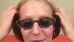 Ryan Star gets her Glasses Jizzed Facial Cum