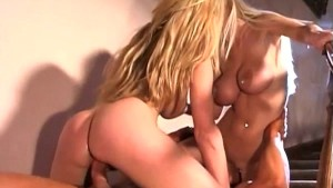 Horny Blondes Kissing, Licking, Sucking, & Fucking