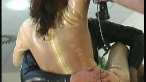 Wet latex fun with Marenka