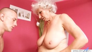 Mature Granny Betty Fucks Young Cock