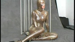 Fullbody spandex posing