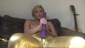 Natalia Ultra Shiny Gold Babe