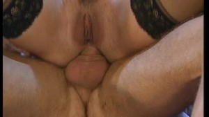Three mature babes on one dick