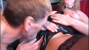 Mature gal has big tits to cum all over