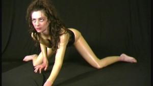 Greece girl in latex fetish porn