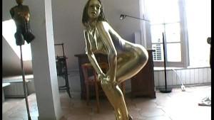 Golden bodypaint Detti