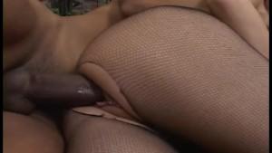 Big Dick Black Guy Nails Brunette Babe