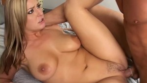 Avy Scott takes a huge cock and loves it