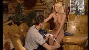 Look who s cumming at dinner