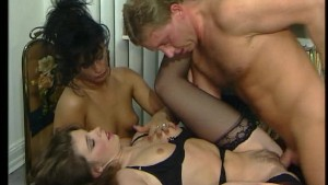 Two girls a guy and his cock i