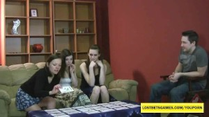 3 amateur cuties playing Strip Memory