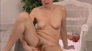 crazy old mom dildo fun