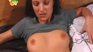Sex appeal hottie takes off clothes