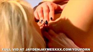 Jayden and Rebecca Blue Lesbos