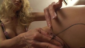 Trinity s mistress gives her a full exam