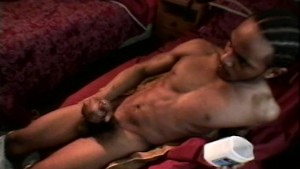 Black guy jerking his meat - Encore_Productions