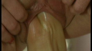 Mature pussy stretched wide