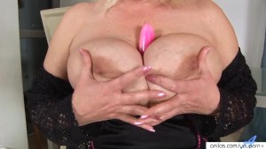 Plastic pleasure with blonde busty