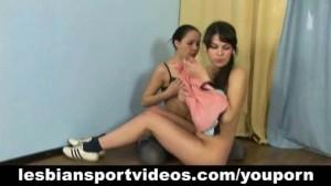 Lesbian sports session