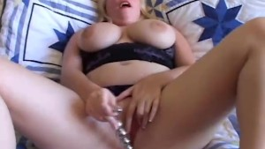 Beautiful big tits amateur BBW
