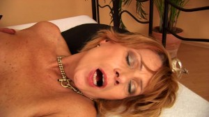 Mature horny broad gets boned