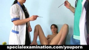 Trio get special examined by strict doctor