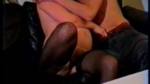 Pregnant German wife rides a dick