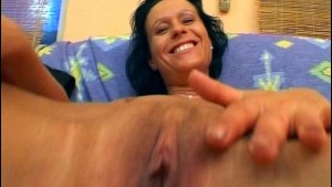 Dirty girl pees before sex - Sascha Production
