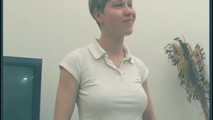 Shorthaired amateur German tak