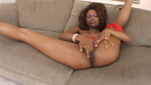 Sexy Ebony Masturbation On Couch - Demolition