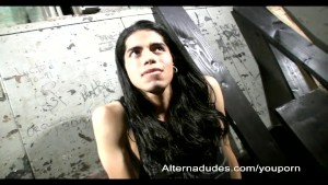 Long Haired Latino Twink