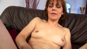 Middleaged Mylene masturbates - CzechSuperStars