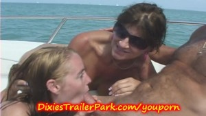 Co-Ed and Mature MILF go FISHING (Compilation)