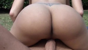 Outdoors Tranny Fuck - Macho M